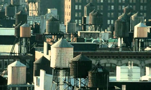 New York Rooftop Water Tanks