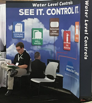 Waterline Controls Booth