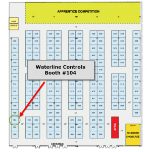 AFSA Booth #104 Map